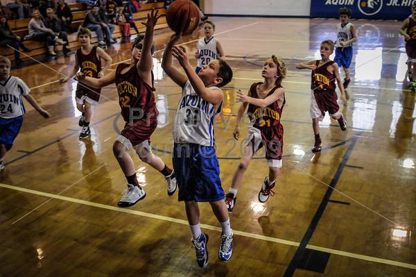 5th grade boys bball vs stockton  1.19.13