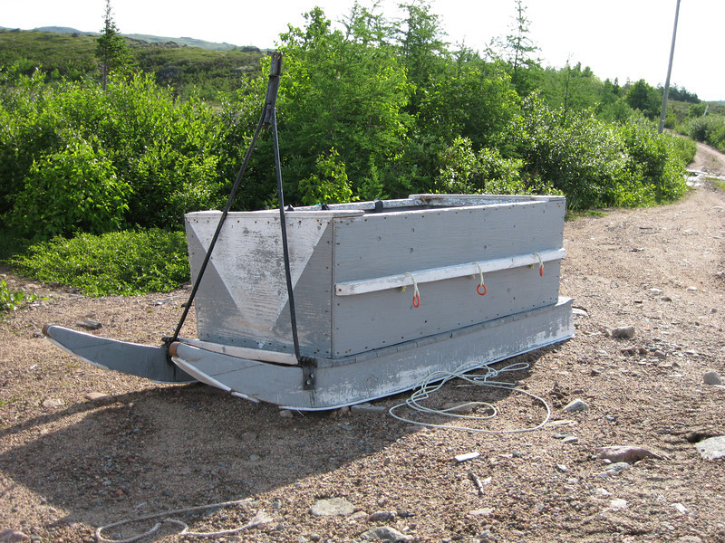 Sled for collecting firewood