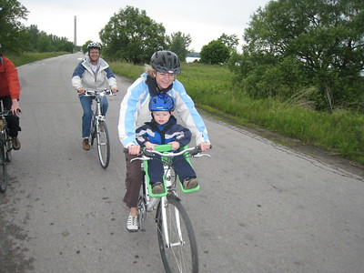 Biking the Leslie St. Spit Toronto