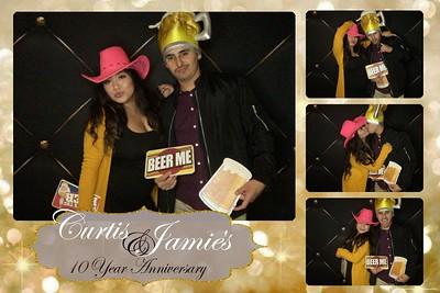 Curtis & Jamie's 10 year anniversary