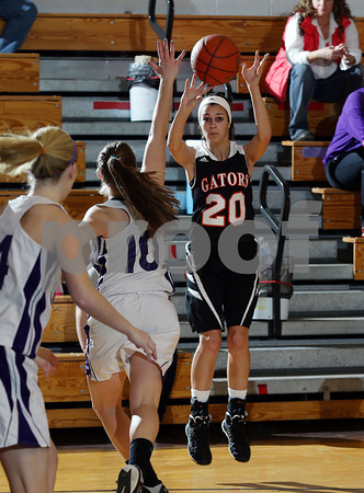 2014 Port Allegany Girls Basketball @ Coudersport
