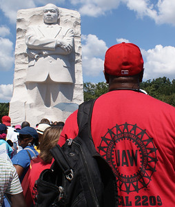 Union Members Join 50th Anniversary March On Washington -  8/24/13