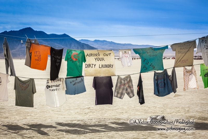 What's your dirty laundry?