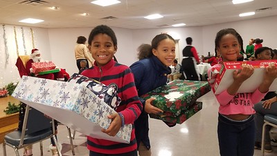 Angel Tree Christmas Party 2019