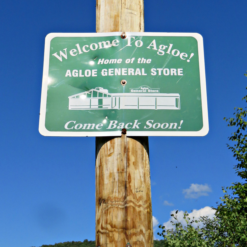 Welcome to Agloe Sign
