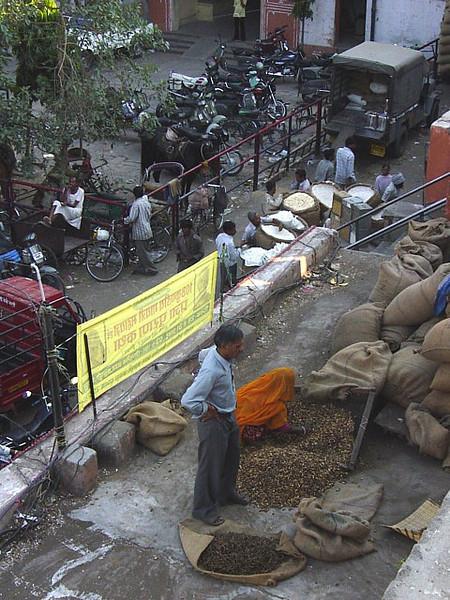 a market area, Jaipur