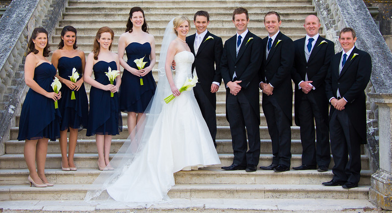 Classic Group Wedding Photography