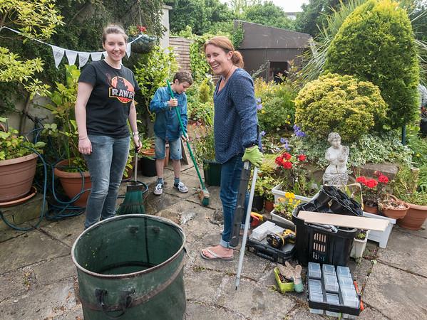 Gran's Garden Day 2015