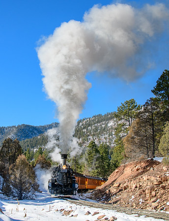 2018 Photo Train Durango and Silverton Railroad