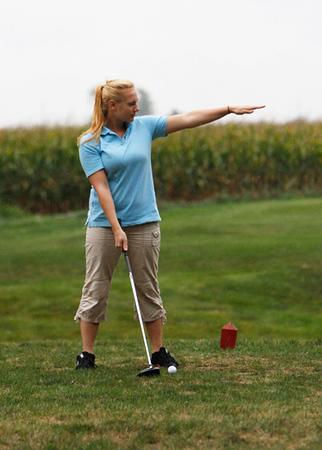 SNHS Girls Golf vs Seeger 2012