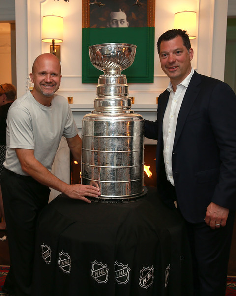 Denny with 2017 Stanley Cup Champs Penguins