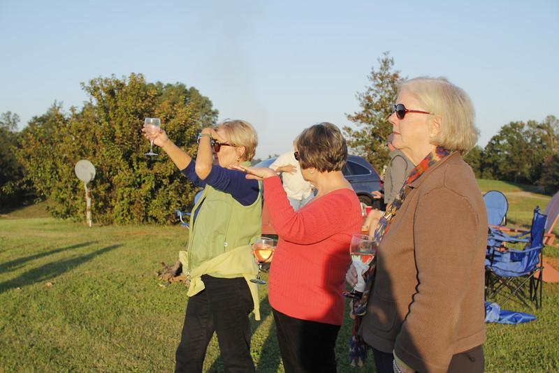 Regina raises a toast to the mountains