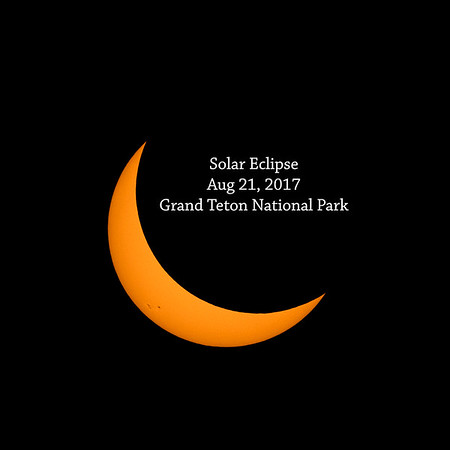 Solar Eclipse and Grand Teton National Park