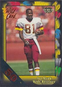1991 Wild Card 50 Stripe