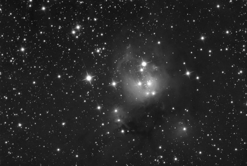 NGC7129 Luminance
