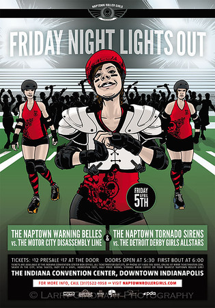 Naptown Roller Girls: Friday Night Lights Out