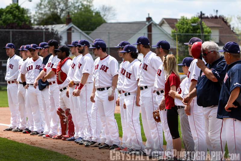 Toronto Maple Leafs at Brantford Red Sox May 24, 2014
