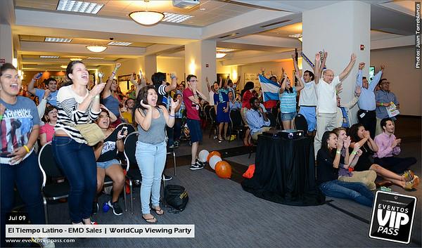 El Tiempo Latino - EMD Sales | Semi Final Viewing Party @ The Washington Post Building | Wed, Jul 09