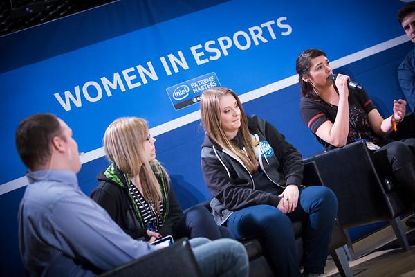 Intel Panel: Women in esports