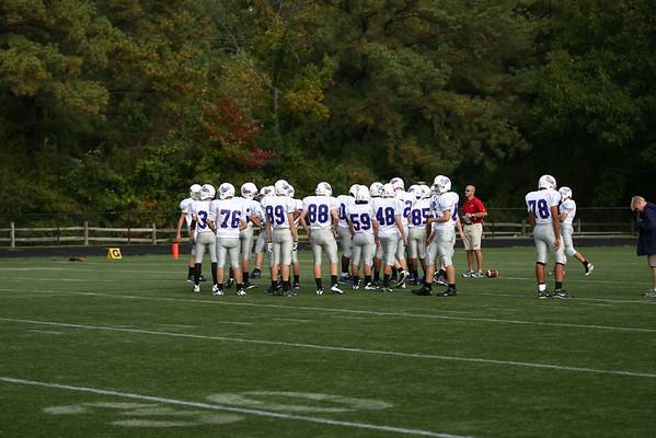 Jr. Prep Football Vs. Collegiate