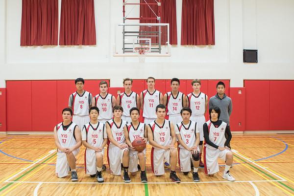 2015-16 Boys Basketball Team Photos