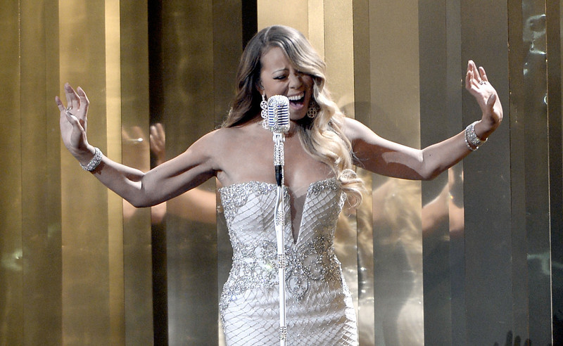 . Singer Mariah Carey performs onstage during the 2013 BET Awards at Nokia Theatre L.A. Live on June 30, 2013 in Los Angeles, California.  (Photo by Kevin Winter/Getty Images for BET)