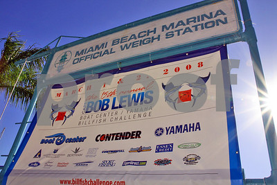 2008 Captain Bob Lewis Billfish Challenge - Day 1 Afternoon - Check-In