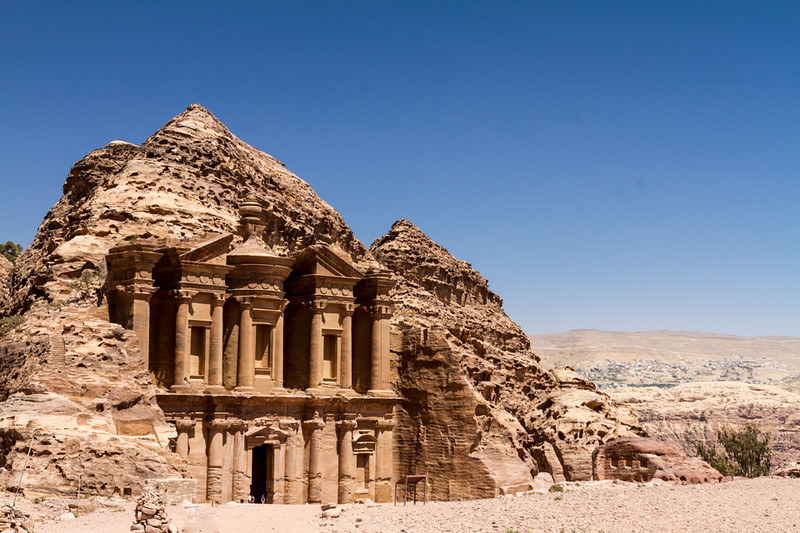 The Monastery is a must-see on a trip to Petra, Jordan.