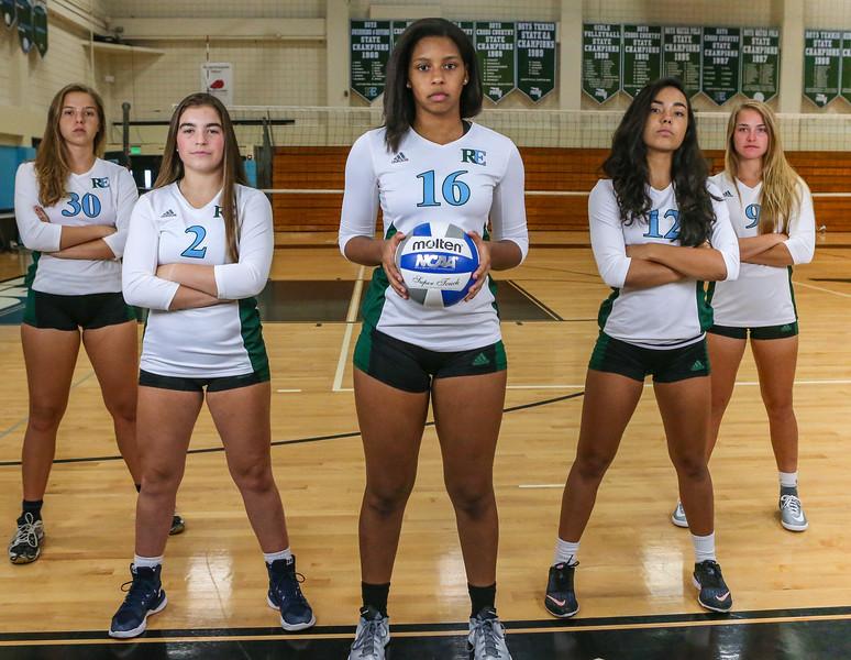 Volleyball, Ransom Everglades Girls 2017