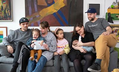 Familien på Vagtelvej 2019