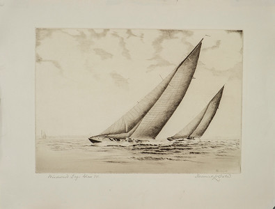 Frederick L. Owen, Artist - Etchings