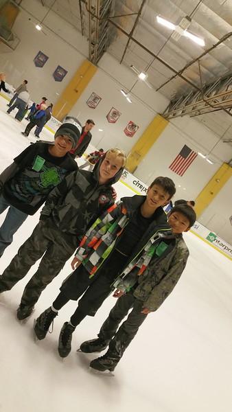 Ronin's Bday Ice Skate December 2014