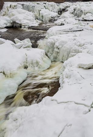 Almonte Rapids Frozen