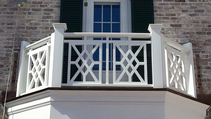 873 - NJ - Chippendale Railing