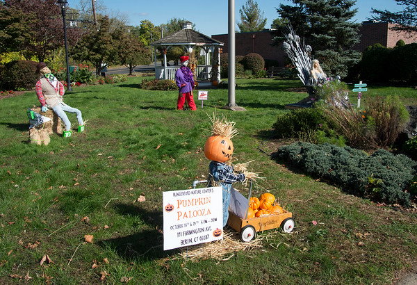 10/14/19 Wesley Bunnell | StaffrrThe Berlin Parks and Recreation Department is hosting the 15th Annual Scarecrow Festival now through the end of the month with scarecrows on display on Farmington Ave.