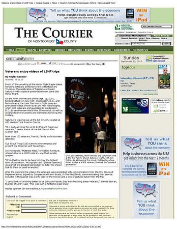 Conroe Courier September 2010