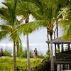 Exterior of a Hawaiian home overlookin the sea