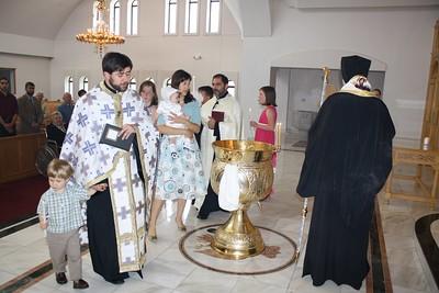 Baptism of Dimitrios Cook