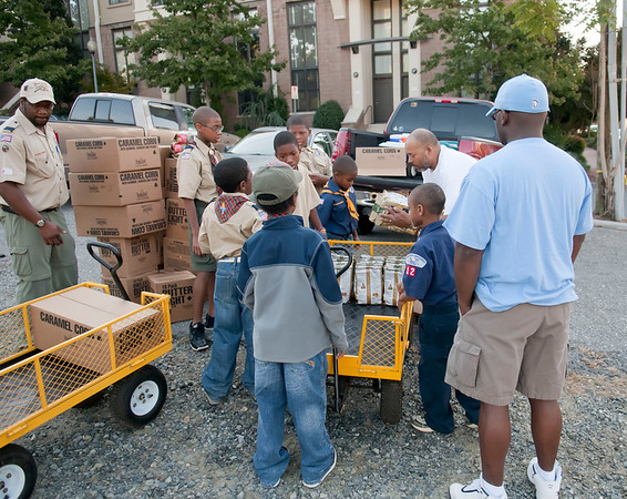Pack 25 Popcorn Sale @ Panther vs Chicago Bears Tailgating 10-10-10 Jon Strayhorn