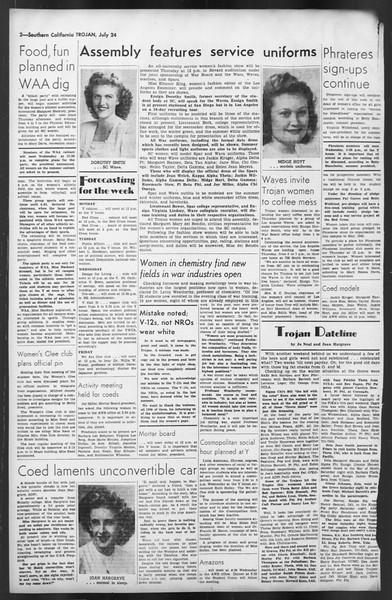 The Trojan, Vol. 35, No. 141, July 24, 1944