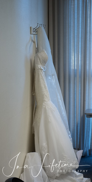 UH Hilton Hotel wedding reception photos