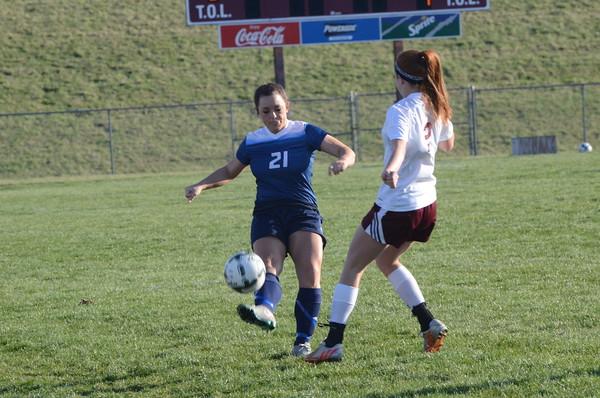 Varsity Girls Soccer vs Waverly