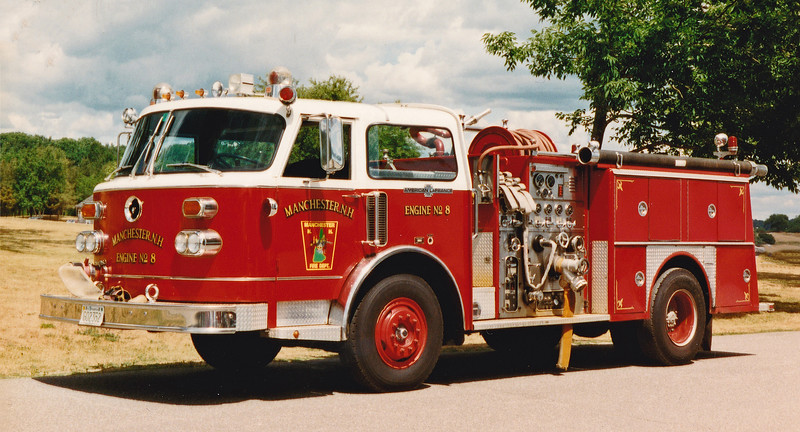 Retired Engine 8   1981 American LaFrance.  1000 / 500