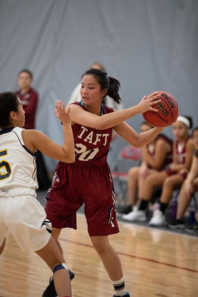 1/8/20: Girls' JV Basketball v Choate