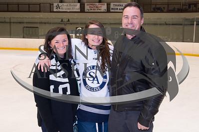 Women's Ice Hockey Senior Day (02/02/17) Courtesy Jim Stankiewicz