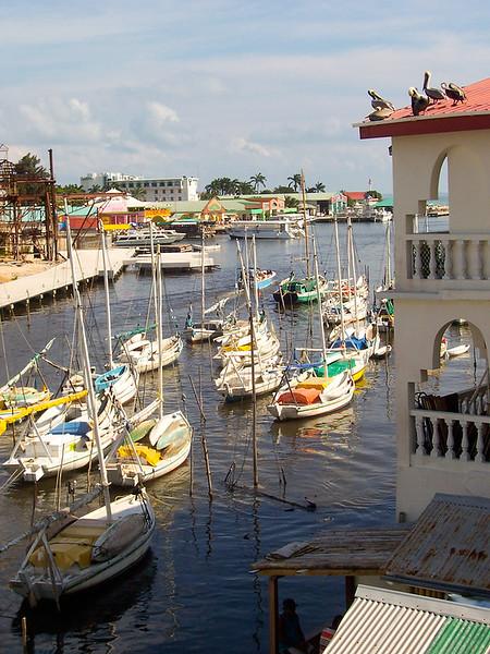 Belize City Dock