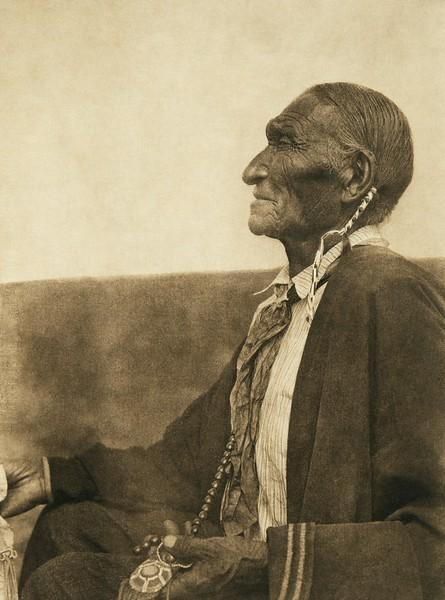 A Cheyenne peyote leader (The North American Indian, v. XIX. Norwood, MA, The Plimpton Press,  1930)