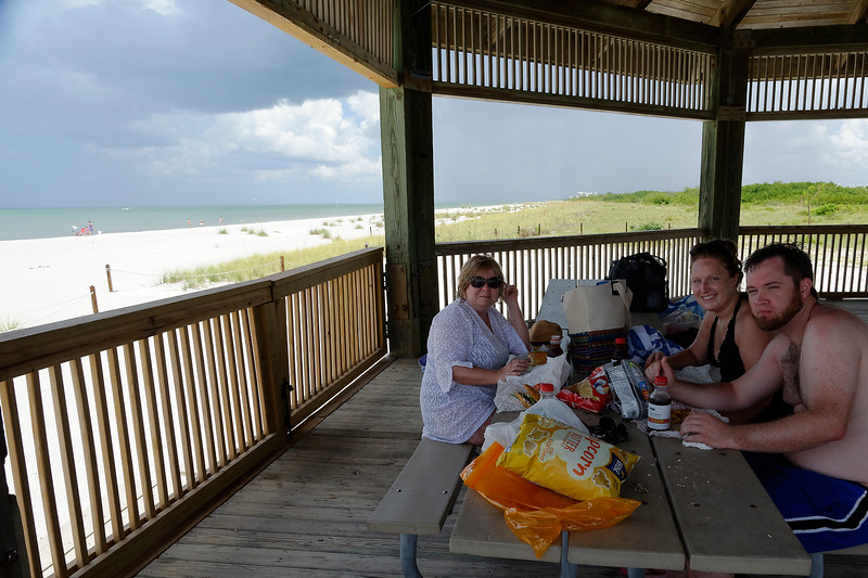 Lunch At Lover's Key