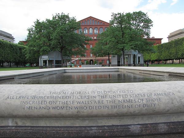 Washington, DC.  National Law Enforcement Officers Memorial