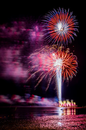 Fireworks - Cedar Key Florida